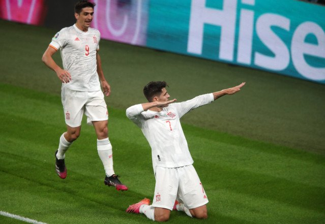 Álvaro Morata gol