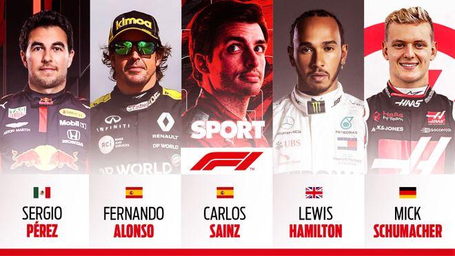 Guía de F1 2021