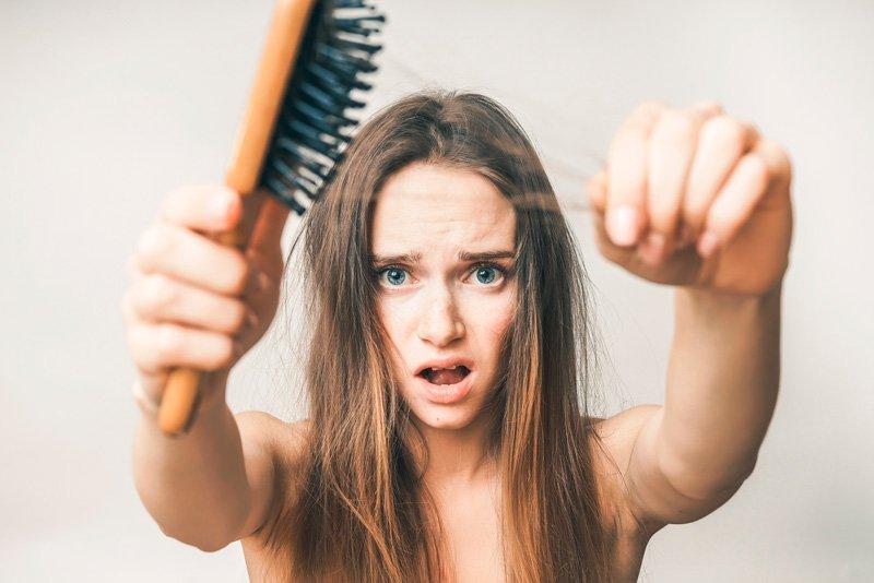 Lo mas temido: la caída del pelo